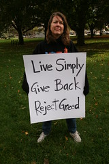 Occupy Lansing - Oct. 15, 2011 (Peace Education Center) Tags: people justice workers peace michigan rally protest lansing revolution activists occupy wallstreetsolidarity