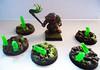 Skaven Verminkin and Wyrdstone tokens (Camper_Bob) Tags: miniatures painted 40k warhammer duncan macdonald