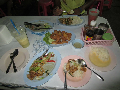 Krabi - Last meal together