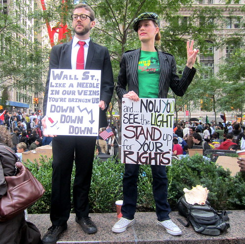 Occupy Wall Street #OWS by SHOTbySUSAN