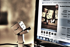 Danbo & virtual friends