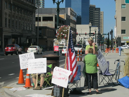 Occupying Lexington, Ky.