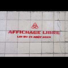 Affichage libre (Evento 2011)