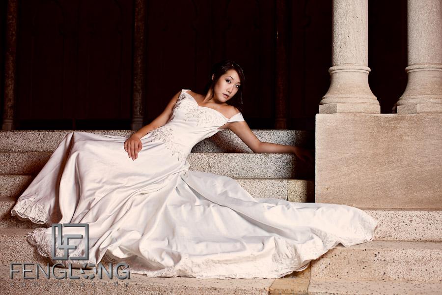Alice's Bridal Portrait Glamour Session   Fox Theatre   Atlanta Wedding Photographer