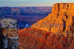 Sunset at Moran Point, Grand Canyon National Park, AZ. (Dale Niesen) Tags: arizona southwest america landscape nationalpark rocks grandcanyon canyon american nationalparks hdr moranpoint arizonapassages sunsetmoranpoint