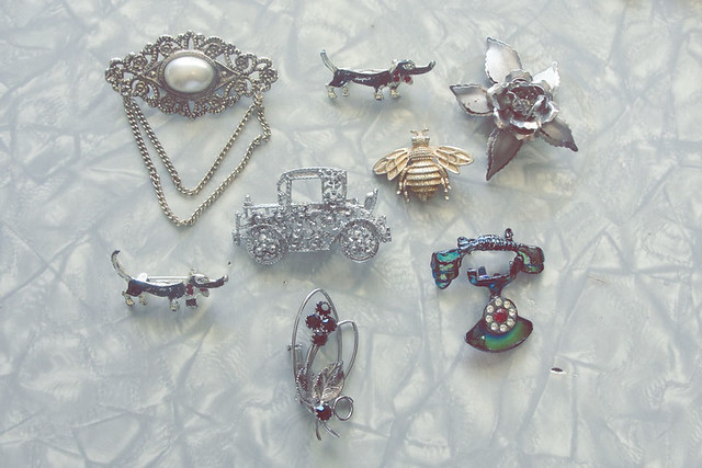 My Mother's vintage jewelry...