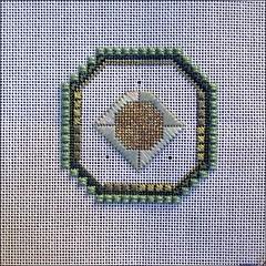 Hopi needlepoint, as of 10/19