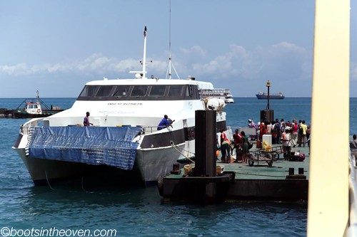 Ferry, Zanizibar - Dar es Salaam