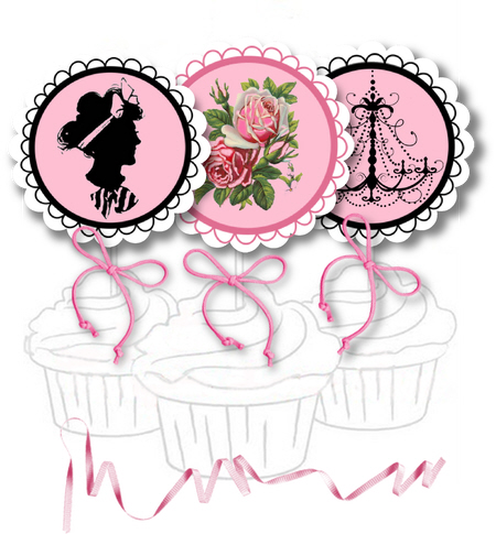 a the p free party printables  5
