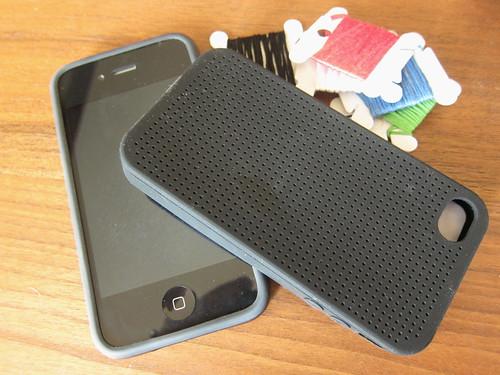iPhone x-stitch case