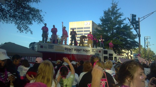 Fire Men and beads.