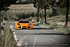 Orange Monster (Keno Zache) Tags: road trees orange sport canon eos german apollo 70200 spoiler sportwagen gumpert 400d
