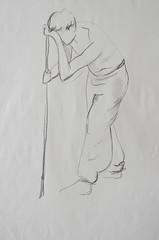 Rico (dana.araujo) Tags: drawings livemodel humanfigure