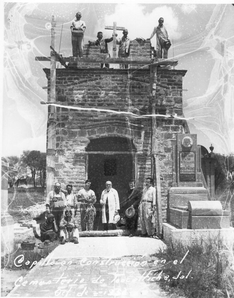 Construcción Capilla del panteon