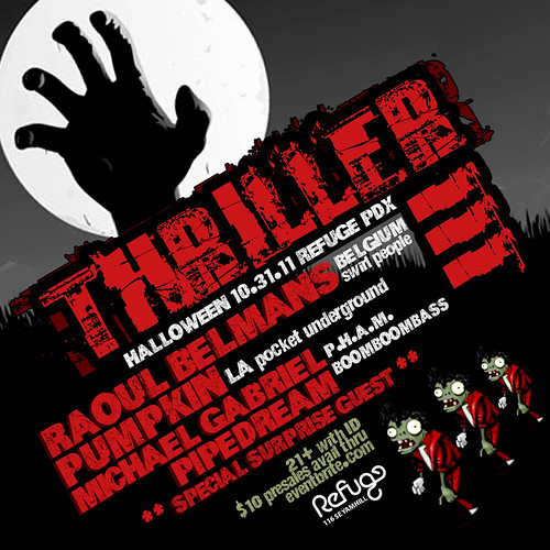 Thriller Halloween Party @ Refuge PDX