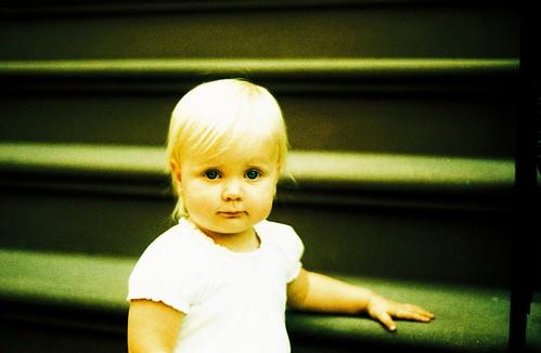 Minna Kottke, a serious portrait