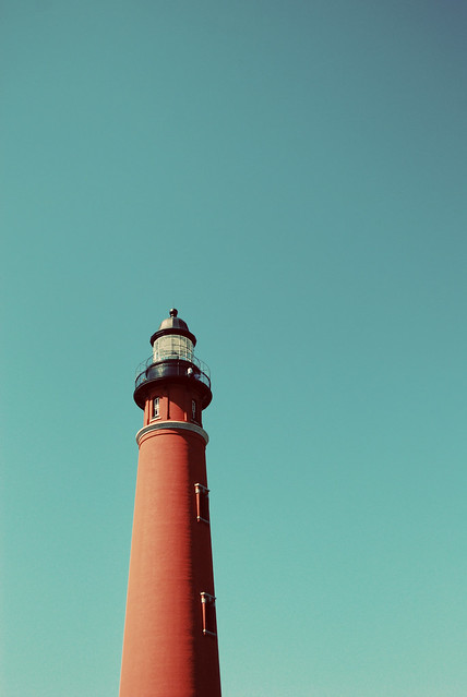 Ponce Inlet lighthouse.