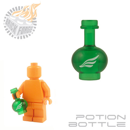 Potion Bottle - Trans Green (Swiftness)