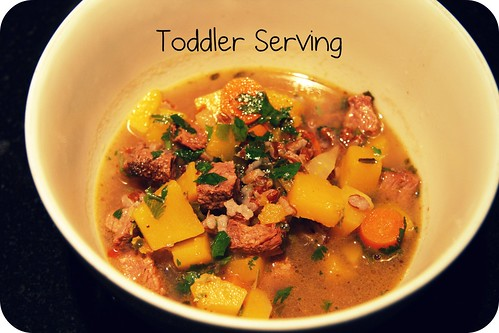 toddler serving