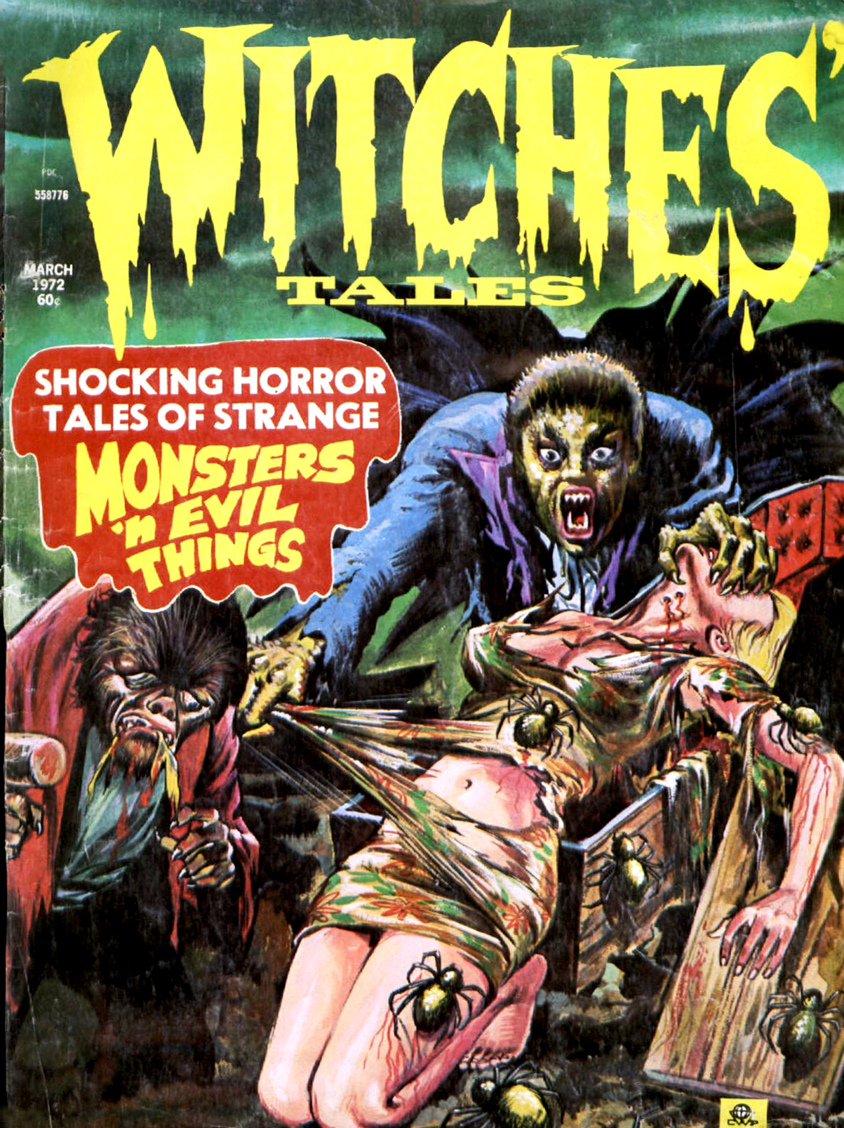 Witches' Tales Vol. 4 #2 (Eerie Publications 1972)