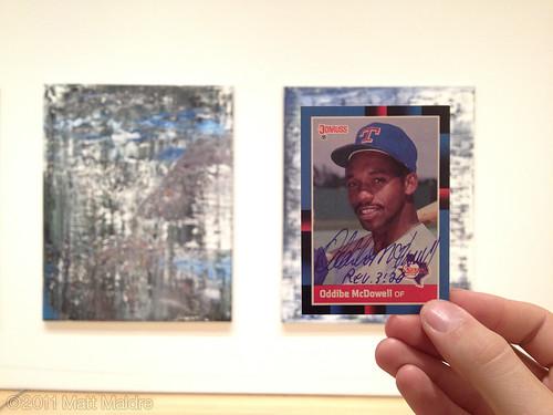 1989 Gerhard Richter and 1988 Oddibe McDowell