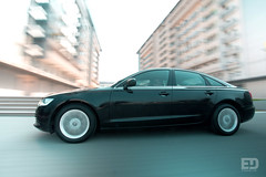 """Black Audi A6 • <a style=""""font-size:0.8em;"""" href=""""http://www.flickr.com/photos/54523206@N03/6288603636/"""" target=""""_blank"""">View on Flickr</a>"""