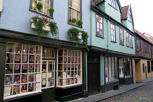 Norwich - The Bear Shop on Elm Hill