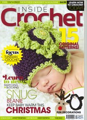 Congratulations SIBOLETTES!! We are featured in 'Inside Crochet' Issue 24. I'm so proud!
