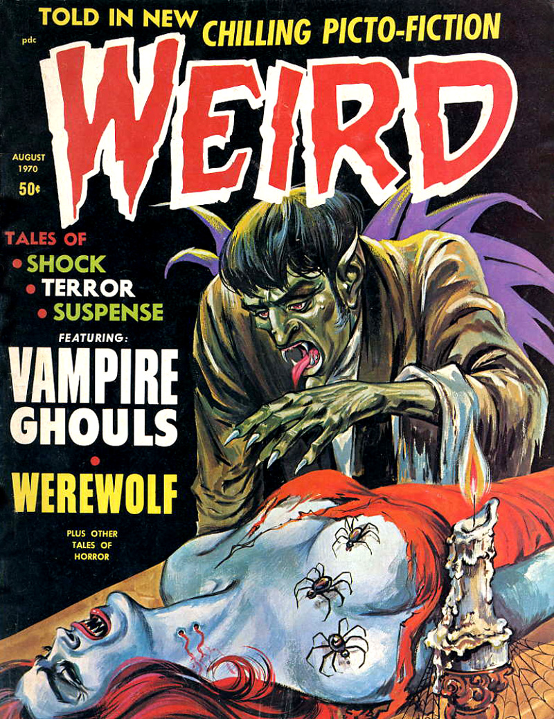Weird Vol. 04 #4 (Eerie Publications, 1970)