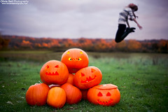 Pumpkins say Jump (Video Inside - Halloween Edition!) - #28 #100 (Olivia L'Estrange-Bell) Tags: autumn halloween jump trickortreat pumpkins autumnleaves jumps englishcountryside autumnsun allhallowseve halloweenedition canoneos5dmarkii pumpkinjump oliviabell oliviabellphotography spookypumpkins 100jumps halloweenjump