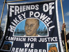 Mikey Powell family campaign attended