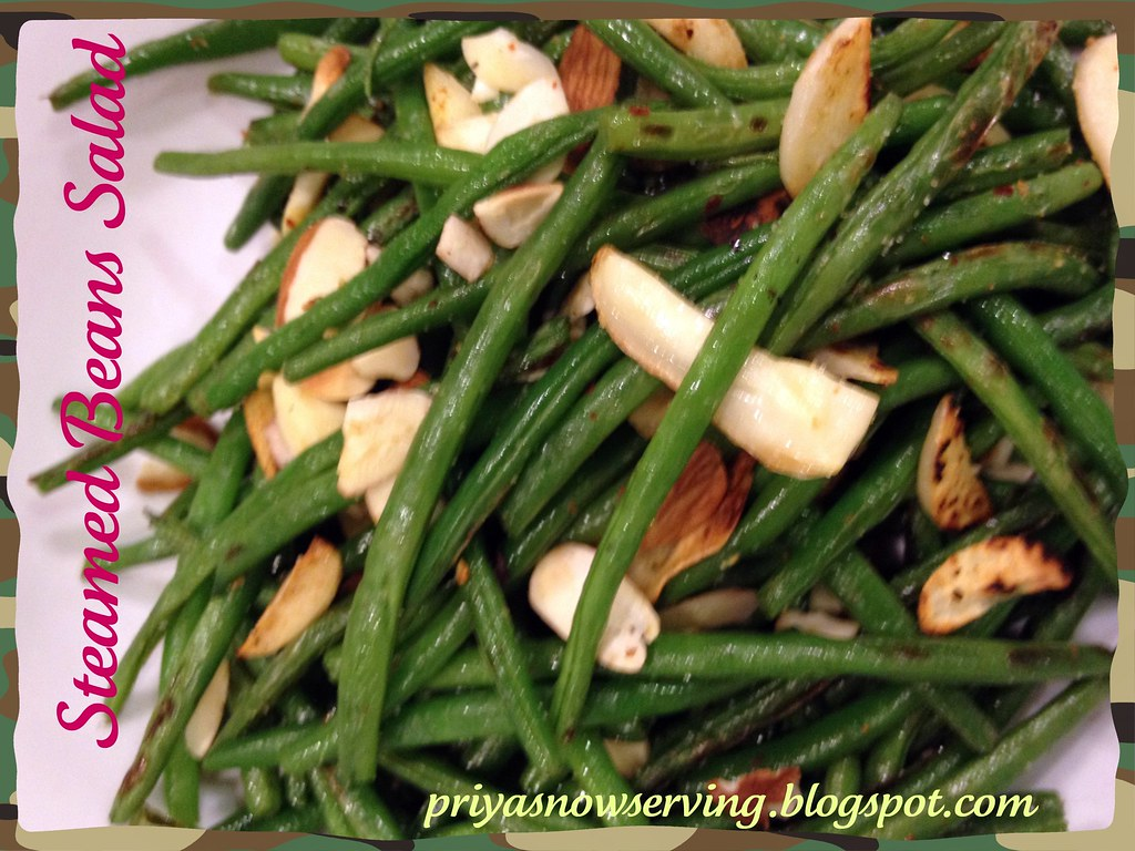 Steamed Green Beans Salad