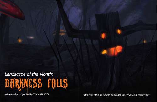 Prim Perfect: Issue 37 - October 2011: Darkness Falls - Landscape of the Month