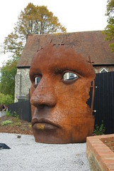 Iron Mask? (Si Oliver Photography) Tags: face kent eyes iron theatre canterbury mast marlow
