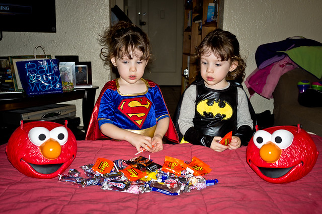 304/365 - October 31, 2011 - Hypnotic Halloween Candy