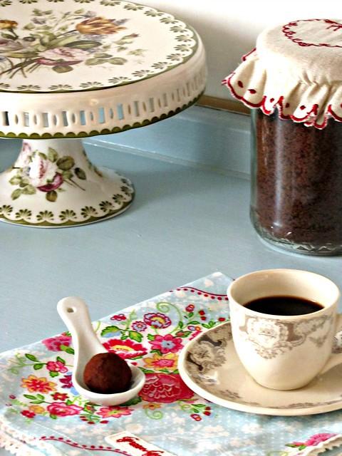 Tartufi al Butterscotch e Cappuccino