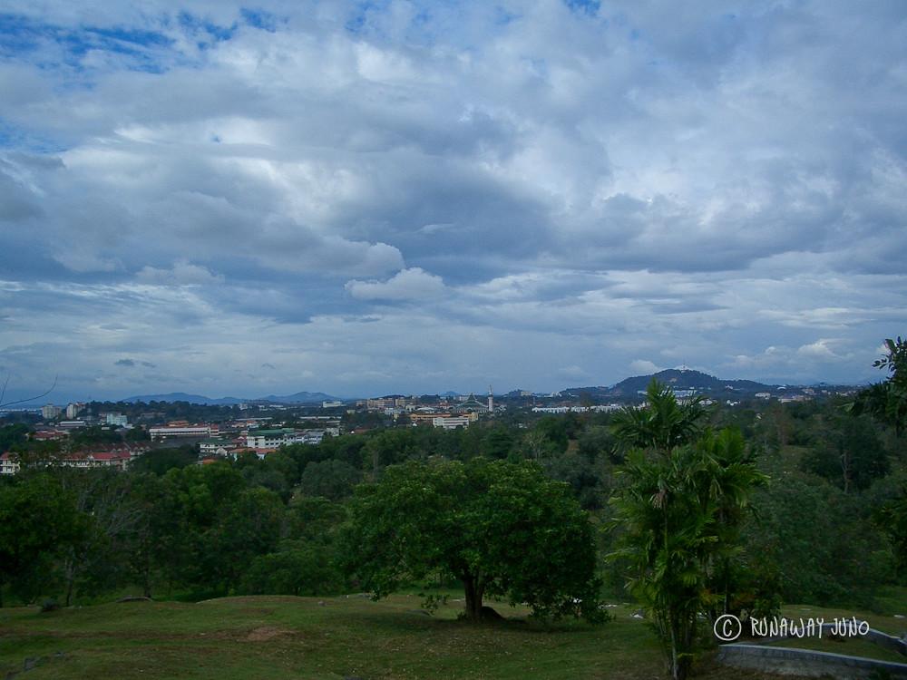 View from Bukit China