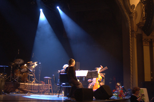 Rat Pack Concert Stage Photo