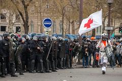 Gilets jaunes - Acte IX (dprezat) Tags: paris manifestation contest protest giletsjaunes yellowvest acteix opposition people street nikond800 nikon d800