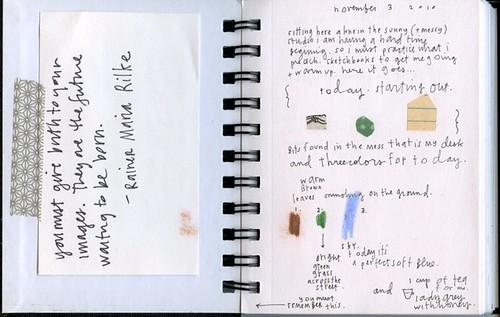 november sketchbook