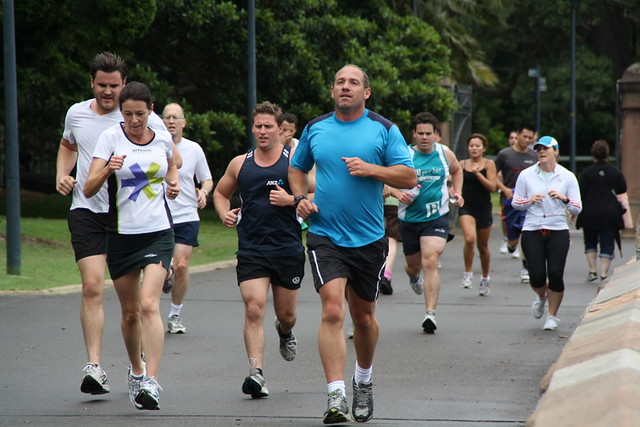 People of Australia:   Runners