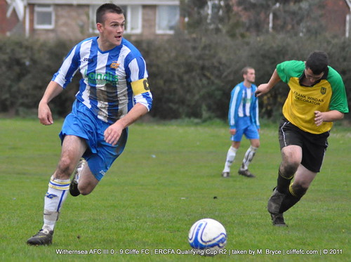 Cliffe FC 9 - 0 Withernsea AFC III 5Nov11