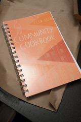 Club Club Community Cookbook, unwrapped