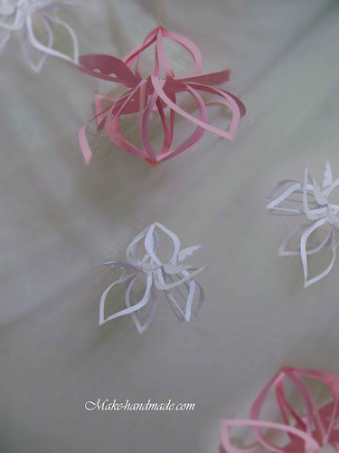 paper crafts for holiday decor: kirigami lotus tutorial