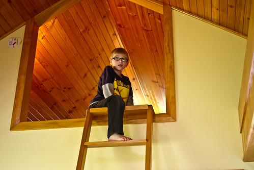 J up the Loft