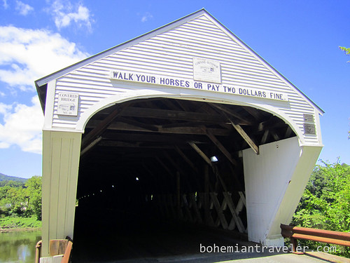 Cornish Windsor Covered Bridge from NH side
