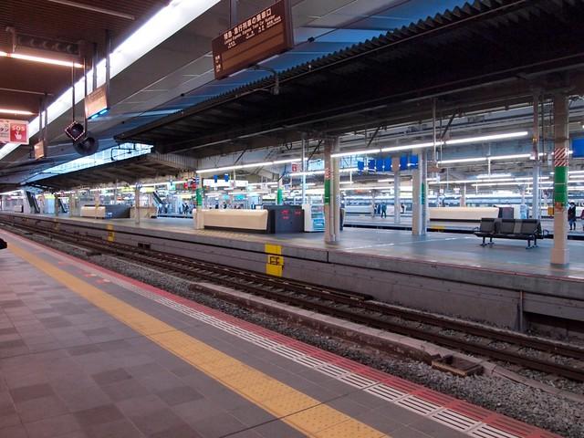 大阪駅11番ホーム