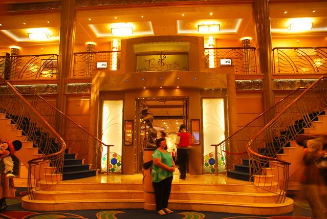 Triton restaurant, Deck 3 main lobby