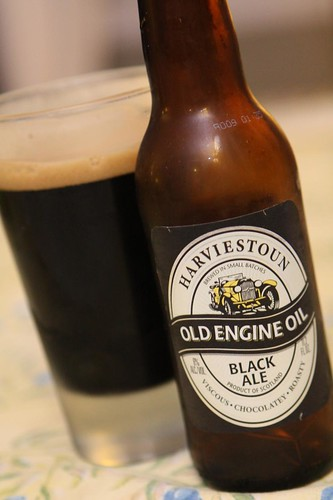 Harviestoun Brewery Old Engine Oil