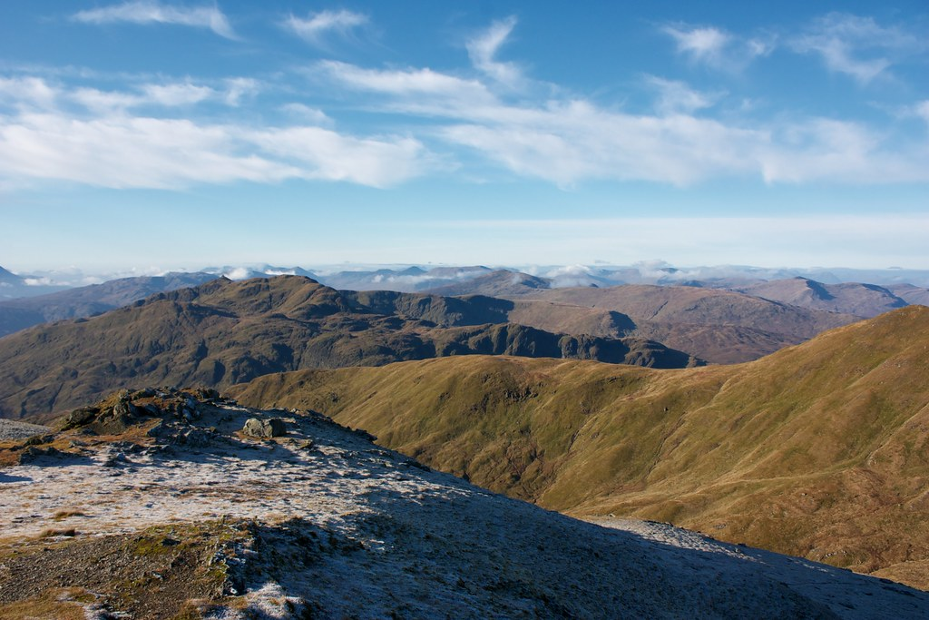 West from Beinn Ghlas